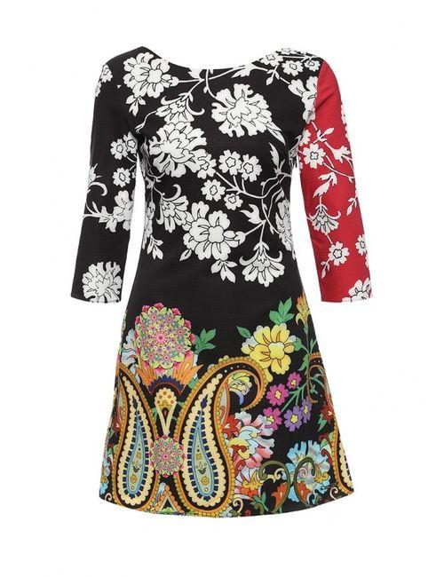 Desigual | Женское Многоцветное Платье