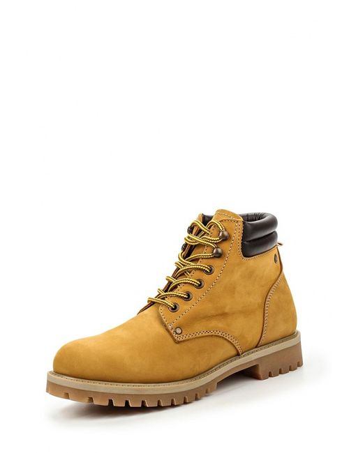 Jack & Jones | Мужские Коричневые Ботинки Jack Amp Jones