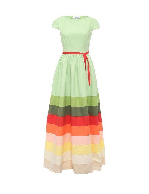 Voielle | Женское Зелёное Платье