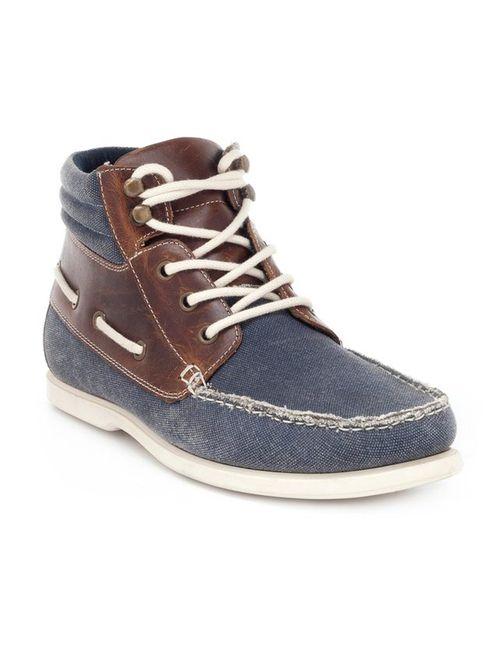 R jeans | Мужские Синие Ботинки