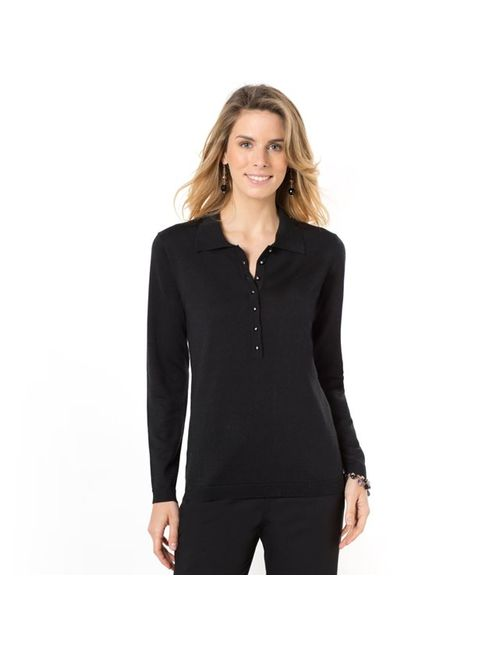 ANNE WEYBURN | Женское Пуловер, 50% Шерсти