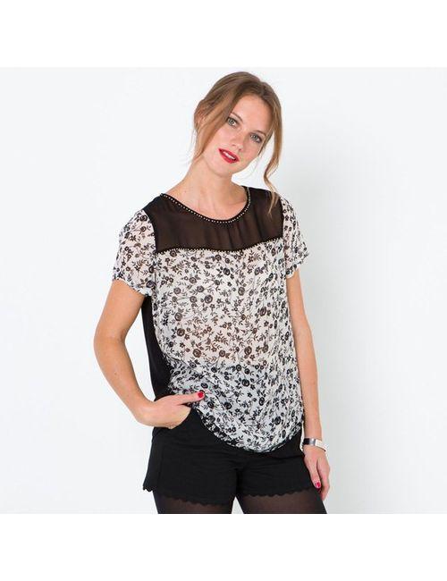 Rene Derhy | Женская Черный Рубашка С Воланами