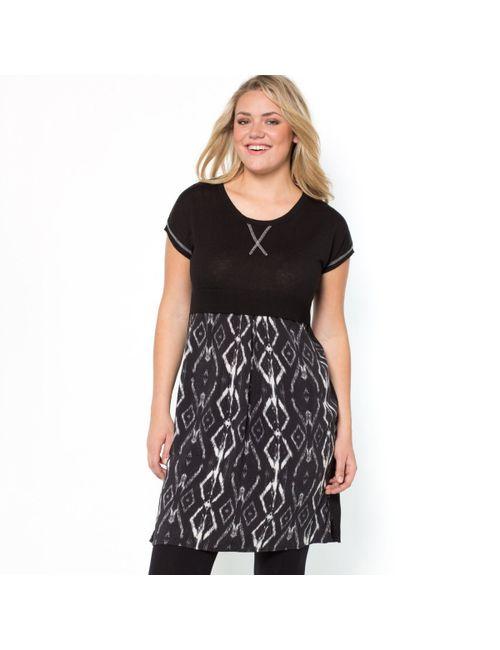 TAILLISSIME | Женское Чёрное Платье С Эффектом 2 В 1