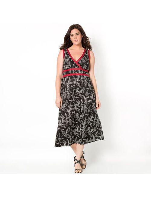 TAILLISSIME | Женское Розовое Платье Длинное 100 Хлопка