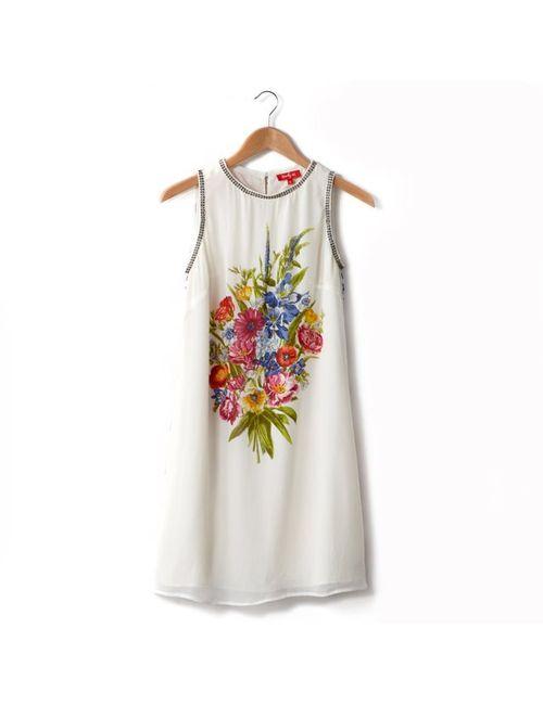 Rene Derhy | Женское Экрящее Платье С Цветочным Рисунком