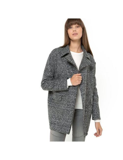 Мини-цена   Женское Красное Пальто-Кокон