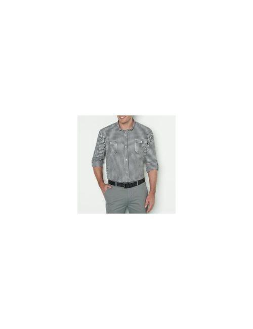 TAILLISSIME   Мужская Рубашка В Клетку Рост 1 И 2