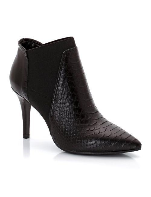 Eden | Женские Чёрные Ботинки