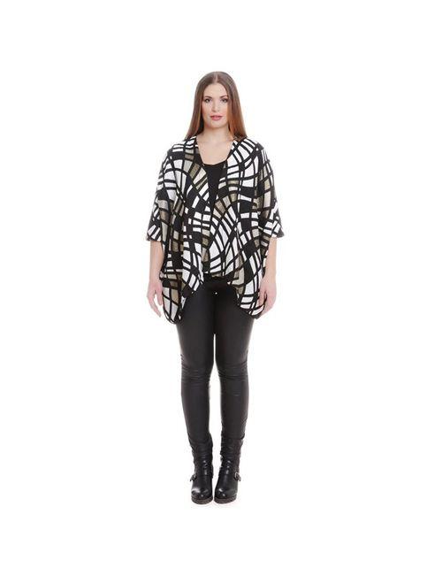 Mat Fashion | Женский Чёрный Кардиган