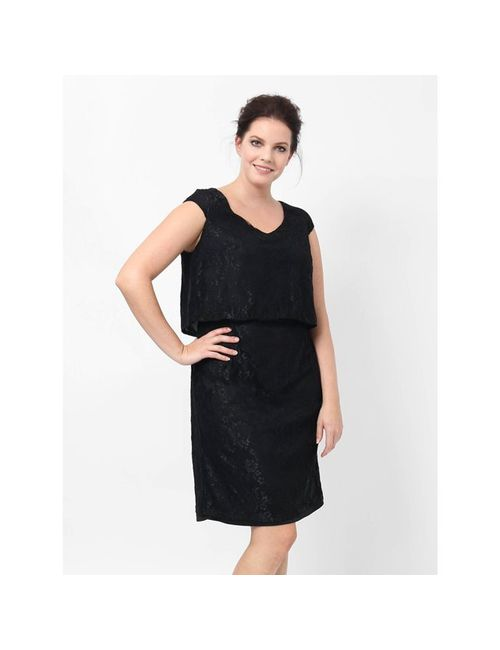 Lovedrobe | Женское Чёрное Платье Длинное