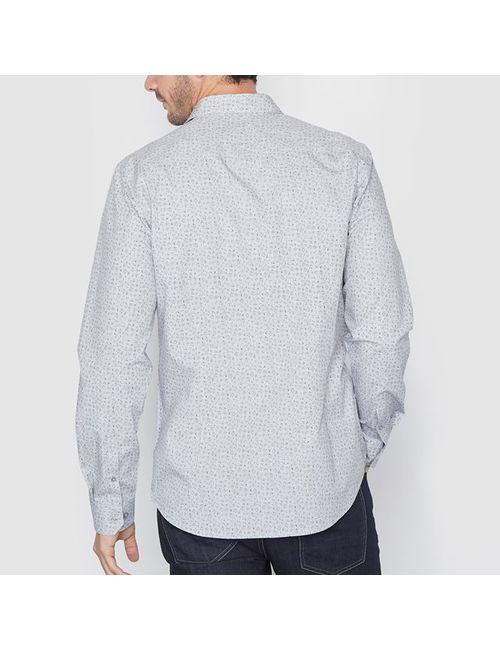 R essentiel | Мужская Набивной Рисунка Рубашка С Рисунком