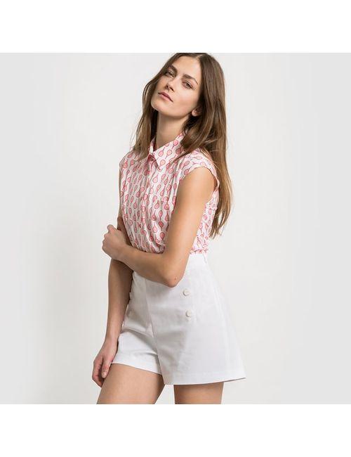 R edition | Женская Набивной Рисунка Рубашка Без Рукавов С Рисунком