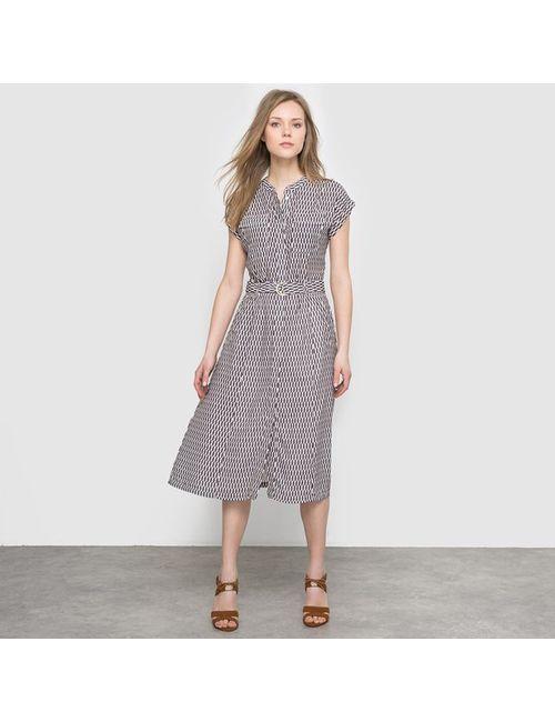 LAURA CLEMENT | Женское Набивной Рисунок Платье С Рисунком