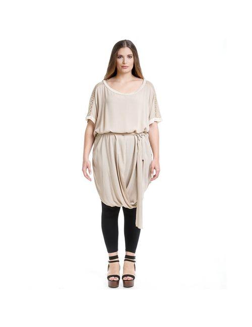 Mat Fashion | Женская Бежевая Туника