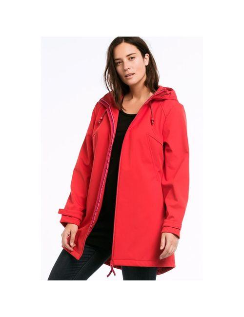 ELLOS | Женская Красная Куртка Из Материала Софтшелл