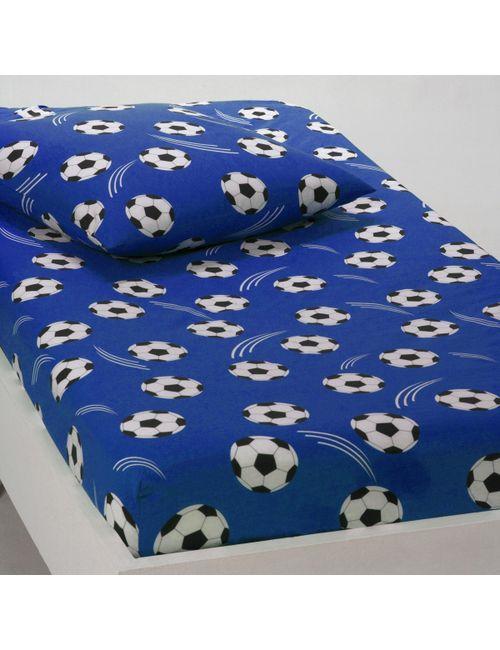 La Redoute Interieurs   Синяя Натяжная Простыня Goal France