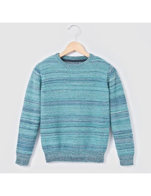 R kids | Розовый Пуловер Из Трикотажа Мулине 3-12 Лет