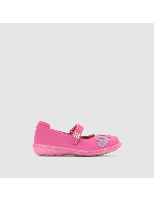 Agatha Ruiz De La Prada | Розовые Балетки Кожаные Mercedes Corazone
