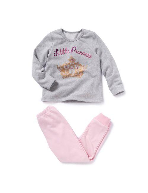 R kids | Розовая Пижама Из Мольтона