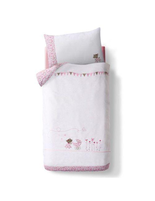 R baby | Розовый Комплект Постельного Белья Лили
