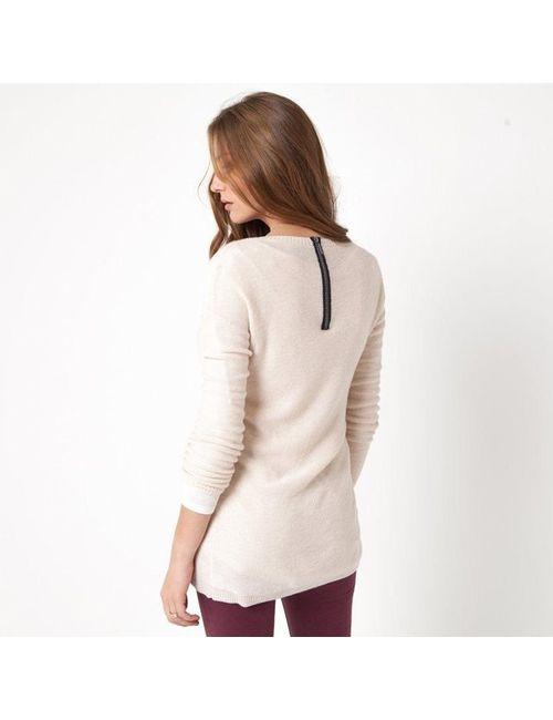Мини-цена | Женский Серый Пуловер-Туника