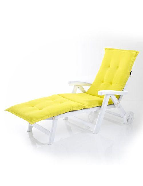 La Redoute Interieurs | Жёлтый Матрац Для Садовой Мебели Двухцветный Для Принятия