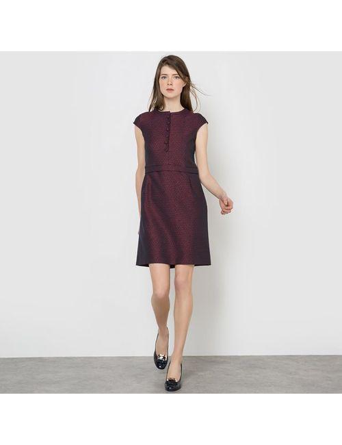 MADEMOISELLE R | Женское Набивной Рисунок Платье 3 Отверстия