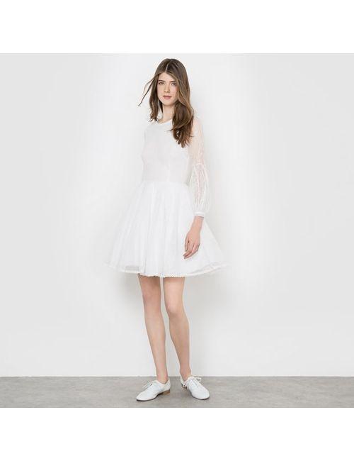 DELPHINE MANIVET X LA REDOUTE MADAME   Женское Экрящее Платье Расклешенное