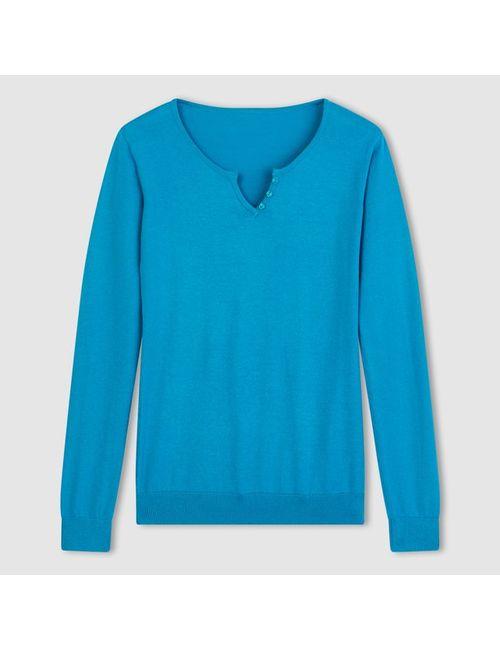R essentiel | Женский Синий Пуловер