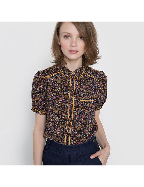 MADEMOISELLE R | Женская Набивной Рисунка Рубашка С Цветочным Рисунком