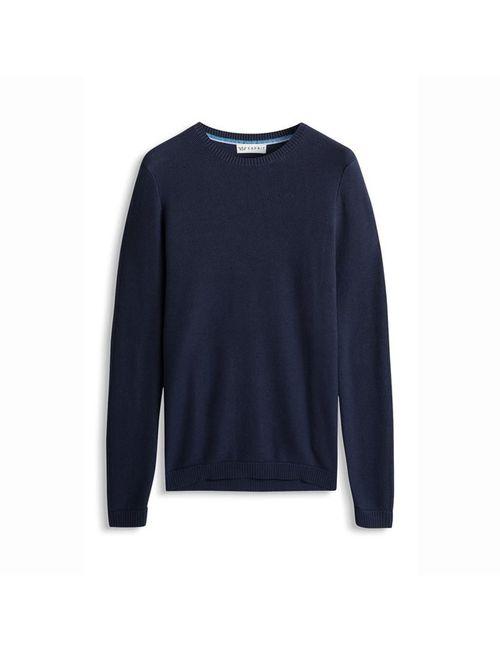 Esprit | Мужской Синий Пуловер Из Тонкого Трикотажа