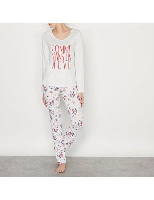 R édition | Женская Цветочная Пижама Из 2-Х Предметов