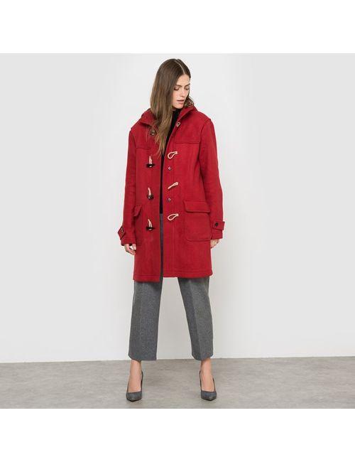 COLLECTOR X LA REDOUTE MADAME | Женское Красное Пальто Короткое С Капюшоном