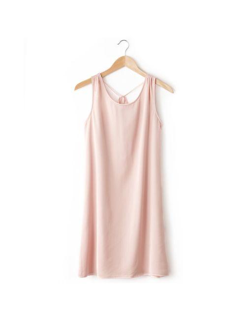 Bensimon | Женское Розовое Платье Без Рукавов