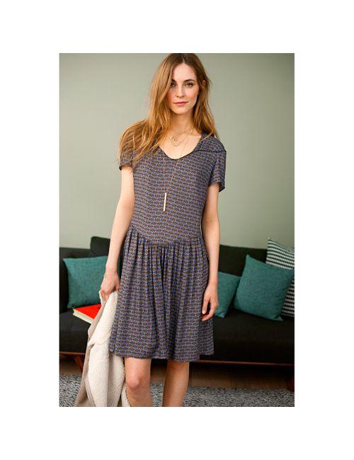 SOFT GREY | Женское Платье С Короткими Рукавами