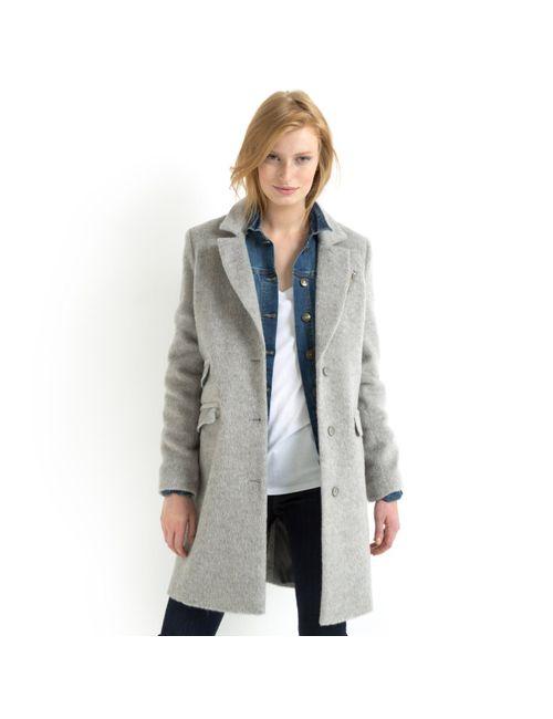 SOFT GREY | Женское Розовое Пальто