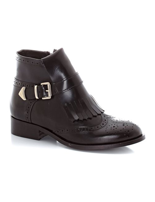 MADEMOISELLE R | Женские Красные Ботинки Кожаные