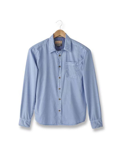 PETROL INDUSTRIES | Мужская Синяя Рубашка В Полоску Мужская