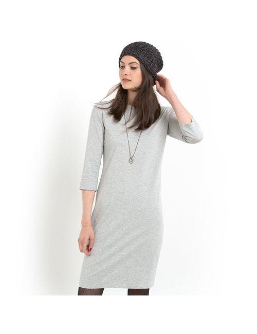 Мини-цена | Женское Серое Платье Облегающее