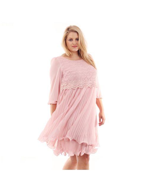 Lovedrobe   Женское Розовое Платье Короткое