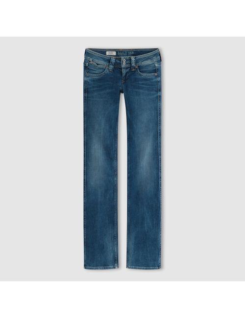 Pepe Jeans | Женские Синие Джинсы Модели Буткат Banji De
