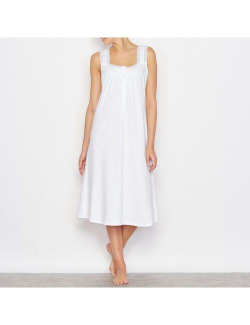 ANNE WEYBURN | Женская Белая Сорочка Ночная