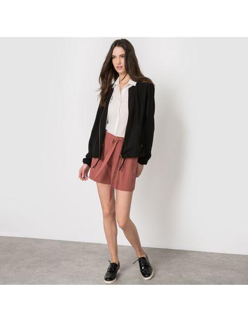 Vero Moda   Женская Хаки Куртка Короткая На Молнии