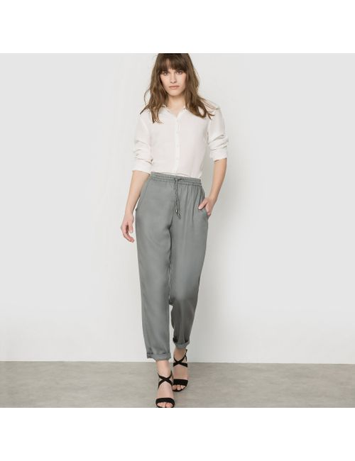 French Connection | Женские Хаки Брюки Широкие Kruger Tencel Jogger