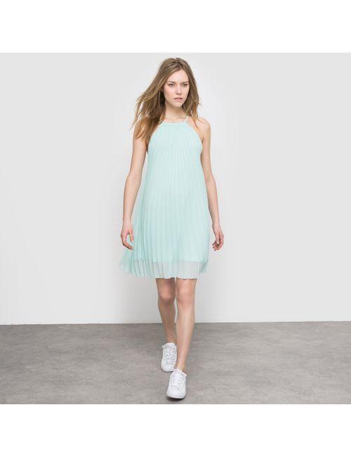 Molly Bracken | Женское Розовое Платье Из Вуали Со Складками