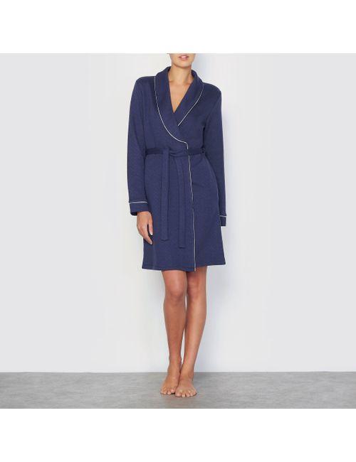 LOUISE MARNAY | Женское Синее Платье Домашнее
