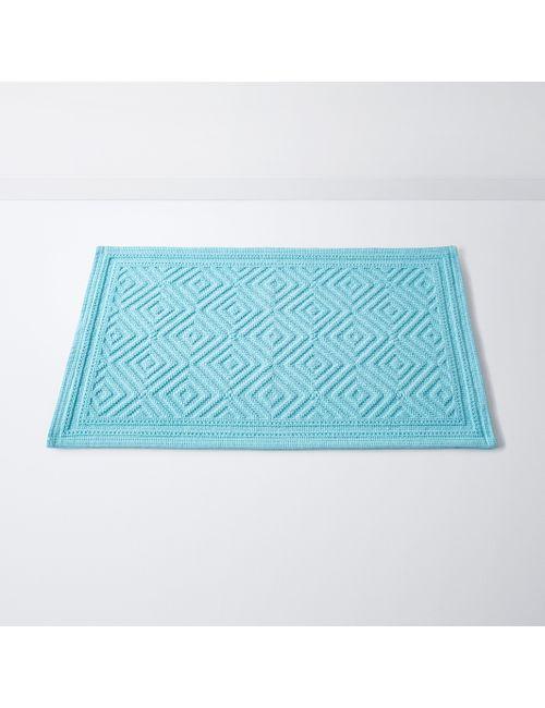 La Redoute Interieurs | Синий Коврик Для Ванной С Рельефным Рисунком Cairo