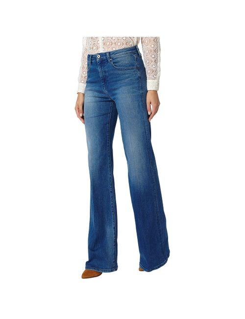 Pepe Jeans | Женские Синие Джинсы Расклешенные Strand