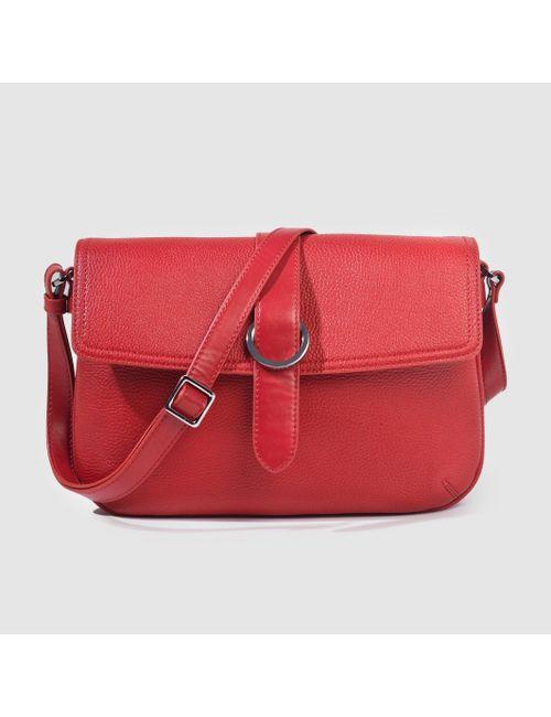 Esprit | Женская Красная Сумка С Регулируемым Плечевым Ремнём Fawn Shouldberg