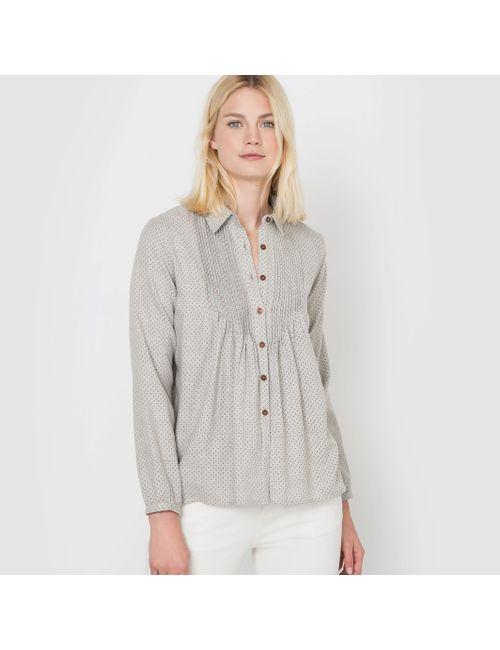 R studio | Женская Набивной Рисунка Рубашка Из Фланели С Рисунком В Мелкий